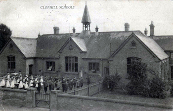 Clophill Schools about 1900 [Z1130/31/34]